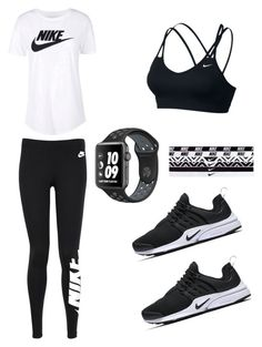 """""""Run time"""" by maddie73mac on Polyvore featuring NIKE"""