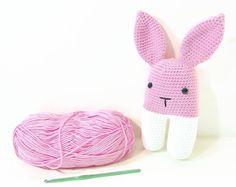 crochet rabbit - bunny crochet - amigurumi rabbit - rabbit crochet - plush bunny - rabbit plush - amigurumi bunny - crochet bunny - plush - pinned by pin4etsy.com