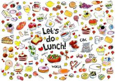 Let's do Lunch - Blond Amsterdam - print