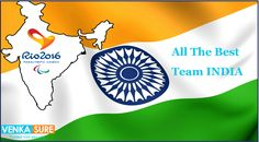 We wish to an entire Indian Team, All The Best........Go India Go...!