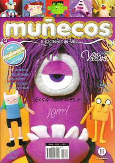 MUÑECOS Y JUGUETES No.81 - Alandaluz Lopez M. - Álbumes web de Picasa Minions, Animal Magazines, Sewing Magazines, Magazine Crafts, Sewing Toys, Soft Dolls, Diy Doll, Softies, Boy Or Girl