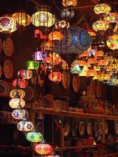 Lamps Greeting Card for Sale by Rachel Mirror Turkish Lamps, Turkish Decor, Beautiful Homes, Beautiful Places, Arabian Nights, Dream Rooms, Cool Lighting, Camping Hacks, My Room