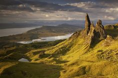 The Storr, Isle of Skye 25 Places In Scotland That Are Straight Out Of A Fantasy Novel Scotland Road Trip, Places In Scotland, Scotland Travel, Scotland Vacation, Scotland Castles, Scotland Uk, The Places Youll Go, Places To See, British Things