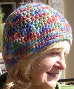 Women Fashion / Crochet Skullcap / Bohemian by hatsbyanne1942