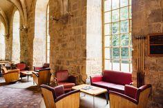 L'abbaye de Royaumont dispose d'agréables espaces de vie. © Jérôme Galland #Royaumont #abbaye #événement #event