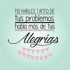 Enfocarse en las cosas grandes de la vida y dar las gracias atrae más felicidad #FraseDelDíaPronalce www.pronalce.com Foto vía Pinterest