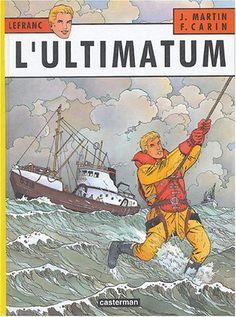 Lefranc, Tome 16 : L'ultimatum de Jacques Martin https://www.amazon.fr/dp/2203314168/ref=cm_sw_r_pi_dp_x_myvoyb2J2XRM7 | Bandes dessinées | Pinterest