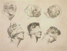 ART & ARTISTS / John Singer Sargent - Six Studies for 'Gassed' 1918