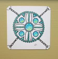 Resultado de imagen para zentangle gems