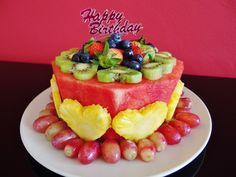 The Healthiest Birthday Cake In The World!