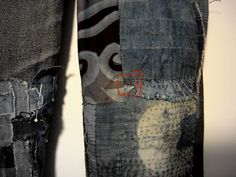 Beautiful way to mend your fav pair of jeans