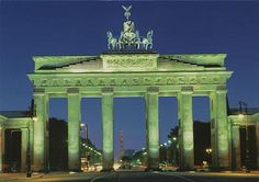 Brandenberg Tor, Berlin, Germany, several times as a little girl in the late 1970s when Berlin was a divided city and again in 1997