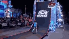 """Then when it came time for the dreaded Warped Wall, she conquered it like a seasoned veteran. 