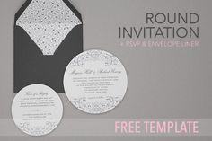 {Free Download} DIY Wedding Invitation Set   The Plunge Project