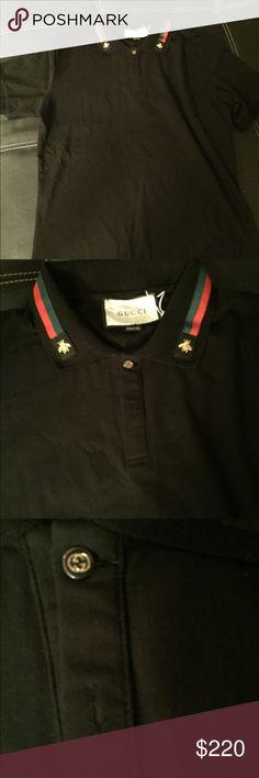a21f8584 Brand new men's Gucci polo Hello. I'm selling a Brand New Black Gucci