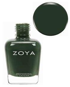 Amazon.com: Zoya Nail Polish Fall - 2013 Cashmeres & Satins Collection **NEW FALL COLOR** (Hunter - ZP695 ): Beauty