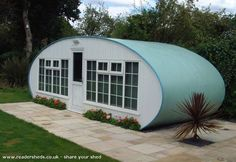 A UK. literate's shed