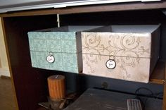 Ohh Baby!: DIY Decorative Storage Boxes