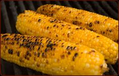 Easy Roast Corn On The Cob ny traegergrills #Corn #Grill #Roast #Easy