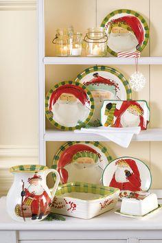"""Vietri """"Old St Nick"""" @ belk.com #belk #holidays"""