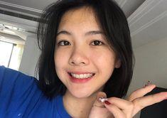 Korean Aesthetic, Aesthetic Girl, Medium Hair Cuts, Medium Hair Styles, Pinterest Girls, Girl Korea, Ulzzang Korean Girl, Fashion Background, Girls Characters