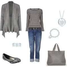 simple, casual and cute....just the way I like it
