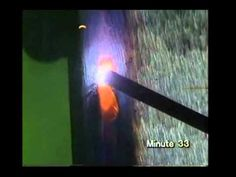MMA welding (welding institute) video guide - YouTube