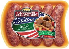 Johnsonville Fresh Italian Mild Sausage Links- used for lentil soup