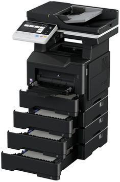 For fast, high-quality B&W print/copy output and scanning in both color, the bizhub 4752 is an ideal document solution for mixed networks Windows Server 2012, Multifunction Printer, Konica Minolta, Printer Scanner, Printing Services, A3, Originals, Touch, Colour