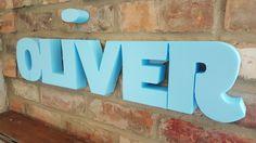 Oliver - Unpainted Styrofoam 3d Wall Art