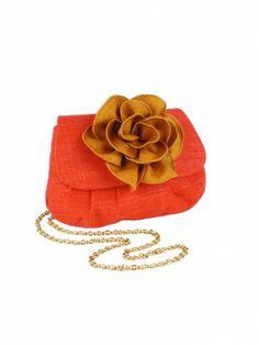 "Summer's 50 Hottest Handbags: Inge Christopher ""Santa Monica"" Flower Clutch"