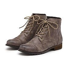 Just got these. Perfectly grey and cute! // G.H. Bass & Co. - Boots #hipster #shoes