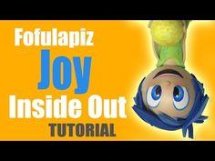 Fofucha fofulapiz Alegria de Intensamente - Joy fofupencil of  inside out - YouTube