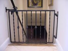 Nice Baby Gates For Stairs With Railings Wrought Iron Baby Gate Stairs