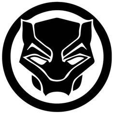 Black Panther Symbol, Black Panther Drawing, Panther Logo, Black Panther Marvel, Marvel Dc, Marvel Logo, Marvel Films, Captain Marvel, Vinyl Pants