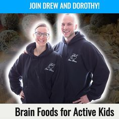 Dorothy and I are back at it with another workshop in our local community! This time we're talking about Brain Foods for Active Kids!  After 8 years of teaching grade 1 Dorothy knows first hand what it takes to fuel the young minds of those looking to gain knowledge and improve in the classroom.  And after 3 years of meal planning and putting together delicious meals the whole family will enjoy she's combined her passion of nutrition and teaching to bring you this workshop jam packed with…
