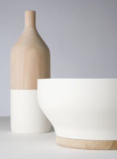 Scandinavian style ceramics by Post Fossil