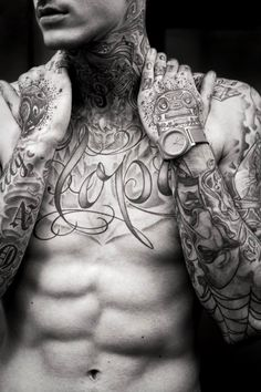 Tattooed guy. #tattoo #tatttoos #ink