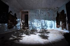 How to Make a Room Into a Camera Obscura (then photograph it because it looks awesome) I want to try this.