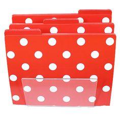 Superb Decorate Your Office With Polka Dots! Polka Dot Print Desk Accessories And  More From Designers Like Kate Spade New York, Anna Griffin, ...