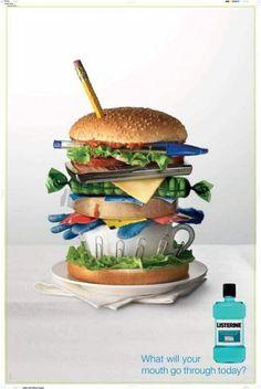 Health food creative ad campaign 2017
