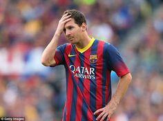 İspanya Milli Takımı Teknik Direktörü Vicente Del Bosque, Barcelona'nın yıldızı Lionel Messi'nin her zaman olağanüstü performansını koruyamayacağını belirtti.