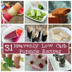 The Best Low Carb Popsicle and Ice Cream Bar Recipes