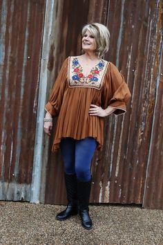 Ivy Jane Camel Tunic-Wear Us Out Boutique Conroe/Montgomery, TX