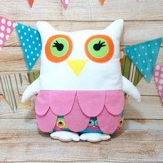 Owl Cushion Owl Pillow Owl Soft Toy Owl Baby Pillow Baby Shower Gift Owl Toy Nursery Decor Owl Decor Decorative Cushion by PolyDollyGoods on Etsy Owl Pillow, Baby Pillows, Owl Cushion, Animal Cushions, Baby Owls, Decorative Cushions, Cute Gifts, Nursery Decor, Baby Shower Gifts