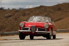 Mick Walsh takes the beautiful Alfa Romeo Giulietta for a turn of the Italian lakes Alfa Romeo Giulietta Spider, Alfa Romeo Spider, Park Restaurant, Vintage Restaurant, Vintage Apartment, Maserati, Ferrari, Car Signs, Alfa Romeo Cars