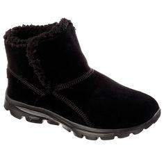 408837 Skechers GOwalk Move-Chugga Imprint Ankle Boots