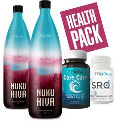 Pakiet zdrowotny - Zennoa Nuku Hiva, Drink Bottles, Vitamins, Shampoo, Water Bottle, Packing, Personal Care, Drinks, Health