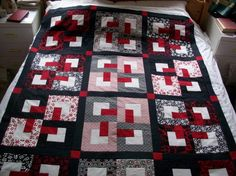 Black Quilted Pattern I've made the top of a black
