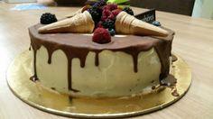 Sims Cake Shop: Bolo de chocolate com creme de queijo com doce de ...